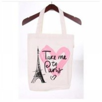 Tonga Tote Bag KNV001PS - Love Paris