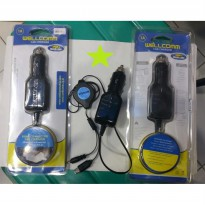 WELLCOMM CAR CHARGER 1 AMP ANDROID DAN NOKIA