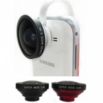Universal Clamp Super Wide Angle Lens - LX-C004