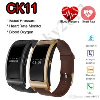 New CK11 Bluetooth SmartBand Blood Pressure HeartRate Monitor Fitness Tracker IOS Android