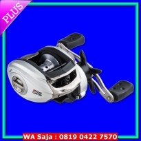 [Recommended] Abu Garcia SILVER MAX SMAX3-L Low Profile Baitcasting Reel - Left hand