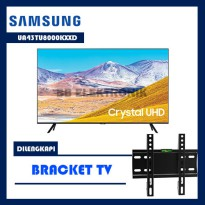 Samsung UA43TU8000KXXD LED TV 43 inch UHD 4K Smart TV Dilengkapi Bracket