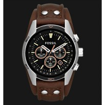 Fossil CH2891 Brown Leather Strap