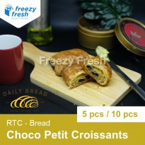 Chocolate Petit Croissants, RTC by Daily Bread - 5 pcs