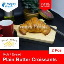 Roti Plain Butter Croissants, by Daily Bread