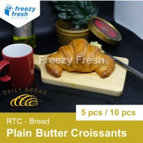 Plain Butter Croissants, JUMBO size, RTC by Daily Bread - 10 pcs