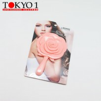 Tokyo 1 cermin Rose Shaped Mirror (717598)