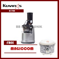 Whole Slow Juicer B1700 Kuvings Dark Silver Free Magiccom
