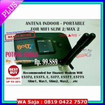 (Antena Penguat Sinyal) ANTENA INDOOR PORTABLE FOR MODEM WIFI BOLT 4G SLIM2 MAX 2 HUAWEI E5577