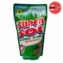 Supersol Karbol Wangi Pine Pouch 800ml