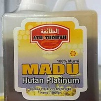 Madu Hutan Platinum Ath Thoifah 500gr - Madu Hutan Murni 500 gram