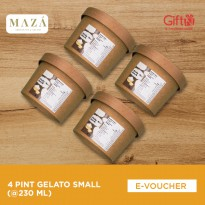 Maza Tea & Gelato - 4 Pint Gelato Medium (@230ml)