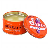 Original Pomade Murrays Super Light/Superlight 100% USA, Gratis Sisir