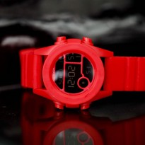 Jam Tangan Digital NIXON RUBBER DIGITAL RED