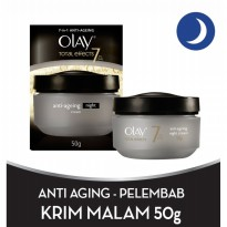 SALE !!! Olay Total Effects 7in1 Anti-ageing Night Cream 50gr
