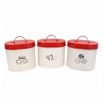 Toples Atria Idaho Canister Set of 3