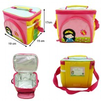 Char & Coll Lunch Bag / Tas Makan Anak Terry Free Custom Nama | 12 Motif