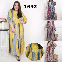 BAJU BIGSIZE MURAH - DRESS ABBIAH JUMBO (1692-DS)