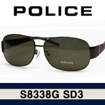 Police POLICE S8338G SD3 Stock Boeing / S8691 / S8587 / Police Sunglasses / Ray Ban 3025 / RB3026 / RB3025 / Super
