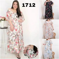 BAJU BIGSIZE MURAH - DRESS LOVA JUMBO (1712-DS)