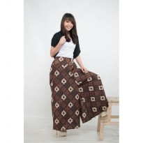 Cj collection Celana batik kulot panjang wanita jumbo long pant Sandra