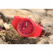 Jam Tangan Analog SUPERDRY RUBBER RED
