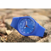 Jam Tangan Analog SUPERDRY RUBBER BLUE