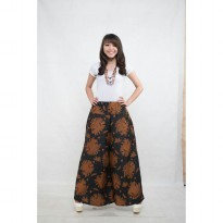 Cj collection Celana batik kulot panjang wanita jumbo long pant Jamilah