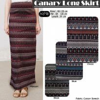 Canary Long Skirt