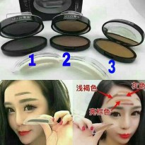 Shezi Printed Eyebrow Make Up / Stamp Alis / Cetakan Alis