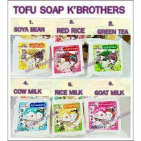 TOFU SOAP - SABUN TAHU ORIGINAL THAILAND - K BROTHER