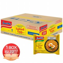 [1 CRTN] Indomie Salted Egg 95 Gr 20 pcs - EXP 8 April 2019 - PICKUP AIA CENTRAL