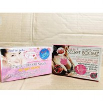 Paket Secret Boomz Stripp & Sabun Gluta