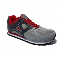 Eagle Ultrasonic Sepatu Lari - Dark Red Grey