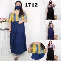 BAJU BIGSIZE MURAH - DRESS AMBERLEE JUMBO (1712-DS)