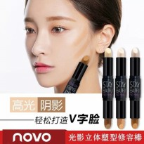 NOVO FACE MAKE UP STICK/NOVO CREAM CONTOUR STICK/NOVO HIGHLIGHTER/NOVO