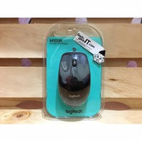LOGITECH Wired Optical Mouse USB m100r/m 100r ORIGINAL & GARANSI RESMI