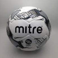 Bola Soccer Mitre Calcio Hyperseam FB White Black BB1102WBV Original