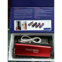 Senter Police 99000W / Power Bank / Korek Api
