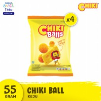 Chiki Ball Keju 55 Gr - 4 Pcs