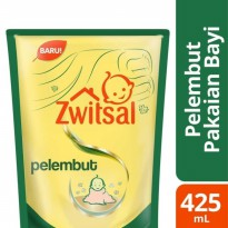 Zwitsal Baby Fabric Softener 425ml Green Tea & Aloe Vera