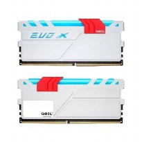 GEIL DDR4 EVO X RGB LED PC19200 Dual Channel 8GB (2x4GB) 16-16-16-36