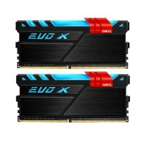 GEIL DDR4 EVO X RGB LED PC19200 Dual Channel 16GB (2x8GB) 16-16-16-36