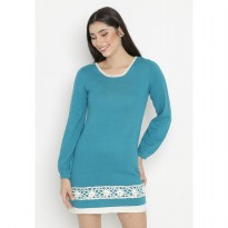 Mobile Power Ladies Long Sleeve Midi Dress - Tosca OK20414