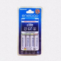 Charger Baterai Panasonic Eneloop Quick Charge 15 Hours + Battery Aa Termurah08
