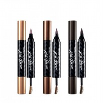 Tinted Tattoo Kill Brow Kiss Beauty ( Tatto Pen + Brow Mascara) 2 in 1