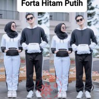 Setelan Training Hoodie Couple Forta bel