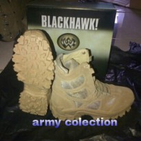 AC SHOES BLACKHAWK 8INC TAN