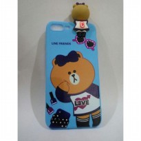 Casing IPhone 6+ Line Friends Silicone