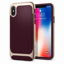 SPIGEN IPHONE X CASE NEO HYBRID BURGUNDY